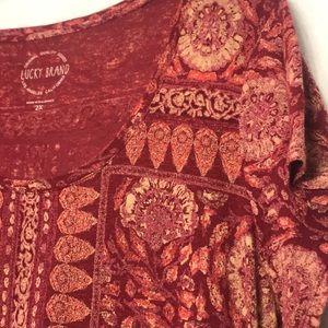 Lucky Brand Tops - NWOT 2x Lucky Brand Top, Cotton blend